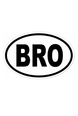 BRO Sticker