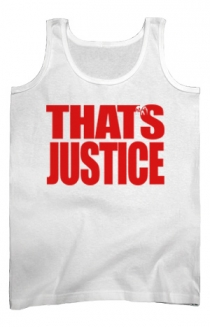 That's Justice Tank (White)