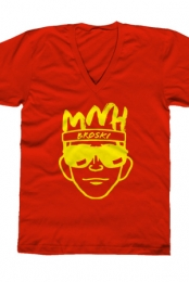 Broski V-Neck (Red)