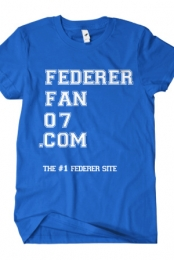 #1 Federer Site (Royal Blue)