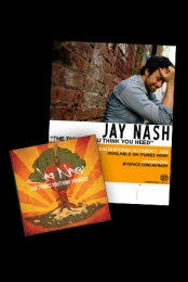 Jay Nash Poster and CD Package