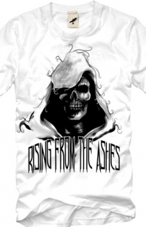 Hooded Skull (White)