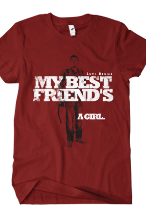 f3518f9c4ae My Best Friend s … A Girl T-Shirt - Levi Riggs T-Shirts - Online Store on  District Lines