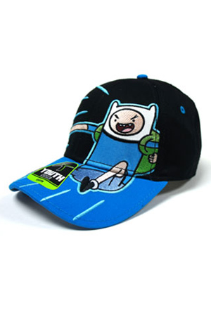 Finn Boys Black Adjustable Cap