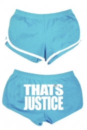 That's Justice Shorts (Baby Blue)