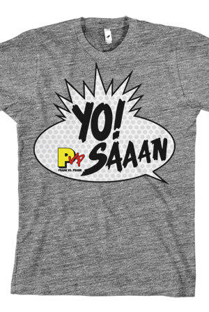 Yo! PVP Saaan Unisex (Heather Grey)