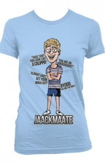 JaackMaate Cartoon Girls (Baby Blue)