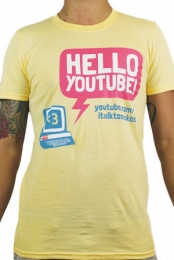 Hello Youtube (Yellow)