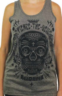 Sugar Skull Girls Tank