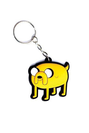 Jake Rubber Keychain
