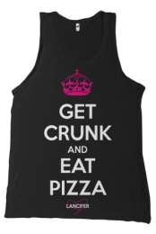 Get Crunk & Eat Pizza Tank