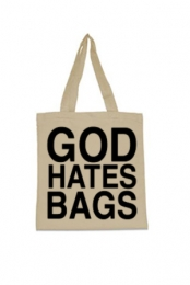God Hates Bags Tote Bag (Natural)