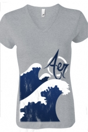 Big Waves (Athletic Grey)