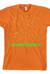 Leaves T-shirt (orange)