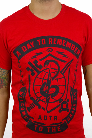 5aee00240 Snake Pit T-Shirt - A Day to Remember - Wholesale T-Shirts - Online Store  on District Lines