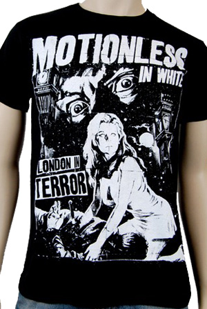 5aec33ac04d London In Terror T-Shirt - Motionless In White T-Shirts - Online Store on District  Lines