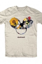 Collage Mau Head Slim Fit Tee