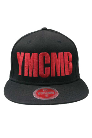 88527ae29a87b3 Red Logo Snapback Hat Accessories - YMCMB Accessories - Online Store ...