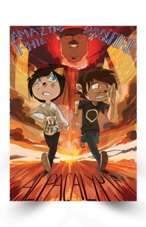 Alpacalypse Poster Poster Danandphil Posters Official