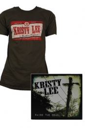 RTD Mens Tee (Brown) + Raise the Dead CD