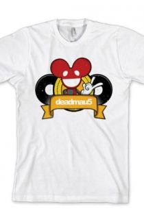 Cartoon Logo Slim Fit Tee