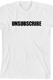 Unsubscribe (White)