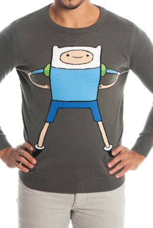 Finn Gray Knit Sweater