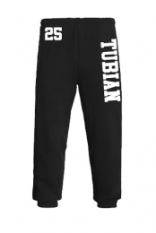 Tubian Sweatpants (Black and White)