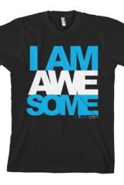I Am Awesome (Blue)