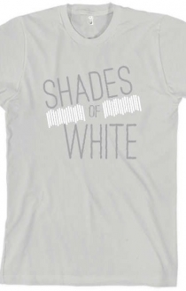 Shades Of White - Dirty AA Tee