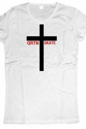 QRTN SKATE - Women's Crucifix Love
