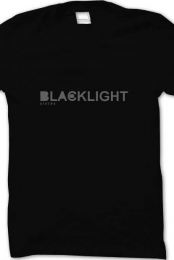 Blacklight LOGO Catchy Tee