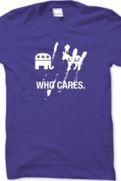 Who Cares Catchy Tee