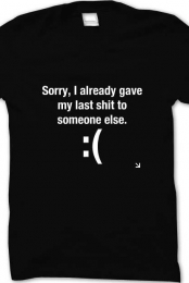 Sorry Catchy Tee