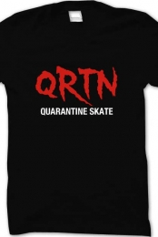 QRTN SKATE - Blood Stricken BLACK