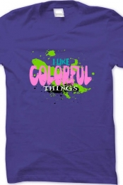 Colorful Catchy Tee
