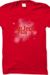 ReJect Pain Supporter Catchy Tee