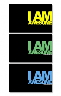 I Am Awesome Wallpaper