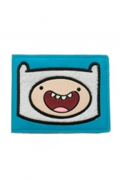 Finn Furry Patch Bi-Fold Wallet