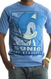 Sega Distressed Sonic Men's Tee