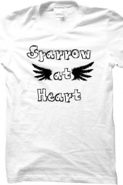 Sparrow at Heart Wing Tee
