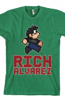 Rich Alvarez Sprite (Kelly Green)