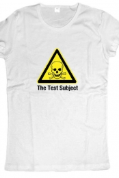 The Test Subject Womens Fan Shirt