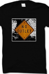 No Outlet (Cover Tee)