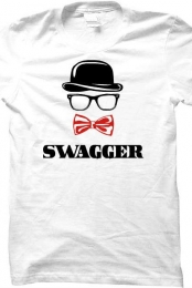 swagger and red bowtie crew neck