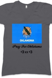 Pray For Oklahoma ~Grey