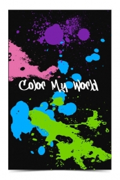 Color My World Poster
