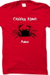 Crabby About You Basic Tee Shirt