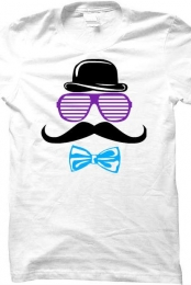 Cute Sir Mustache Tee Shirt