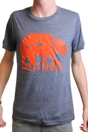 Great Divide Logo (Heather Navy w/ Orange)